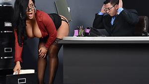 Mr. Strong is the boss around these parts and he's got some real creepazoid tendencies. To new employee Kiara's surprise, all the girls in the office are fine with it. It seems there are perks to showing him their tits: gifts, cash, whatever! But more imp