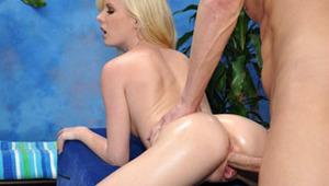 Elaina seduced and fucked hard by her massage therapist.