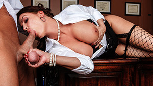 Diamond Foxx is a renowned professor that takes trouble-maker students and turns them into straight A honor rollers. How, you ask? By fucking them until they obey, and turning a regular classroom into a place of scintillating sexual perversion.