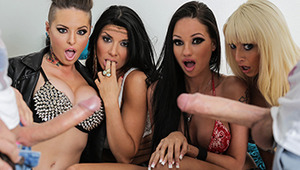 Four slutty best friends Christy, Raven, Rikki, and Romi, are determined to have the best Spring Break of their lives, no matter how broke they are. Nothing gets in the way of these badass bitches, and they'll blow as many dudes as possible to raise the f