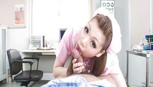 nice teen,wild nurse,pov,cock sucking,cum in mouth