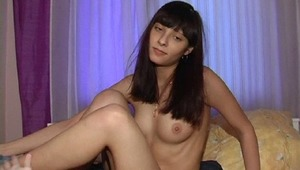 This naughty teen says that she does not need any presents but only a load of fresh sperm. That day she tricked the dude into making sex by jerking off and sucking his cock. The stud banged her really hard and in the end of the action covered her yummy ti