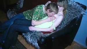 Do you like walking with nice babies? I think you do but it is much better to bring her at home and fuck as this guy did. Yes, look how tenderly he kisses and caresses her sweet nipples. The girl is very excited and doesn't mind riding his cock immediatel