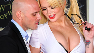 Alexis Ford is hoping to make a big splash at her high school reunion tonight. She's wearing a disguise, even though no one would recognize her anyway. When her first love Johnny sees that Alexis has grown up and become as hot as the sluttiest porn star,